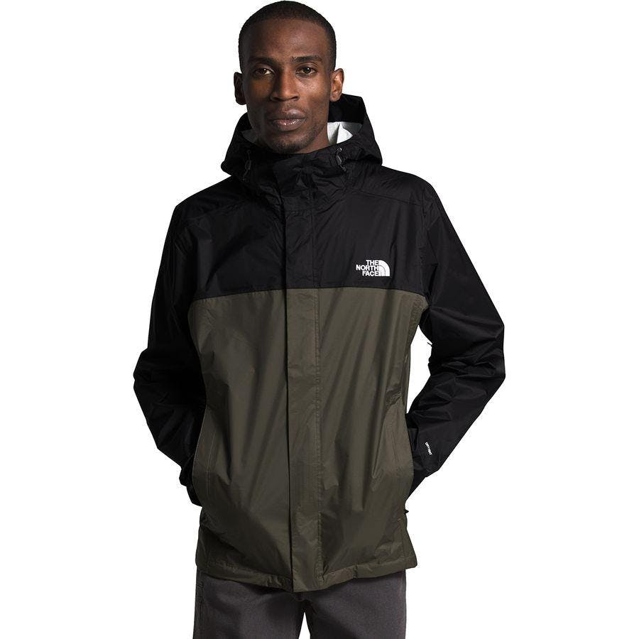 The North Face Mens Venture 2 Jacket in New Taupe Green/Black, Size Small