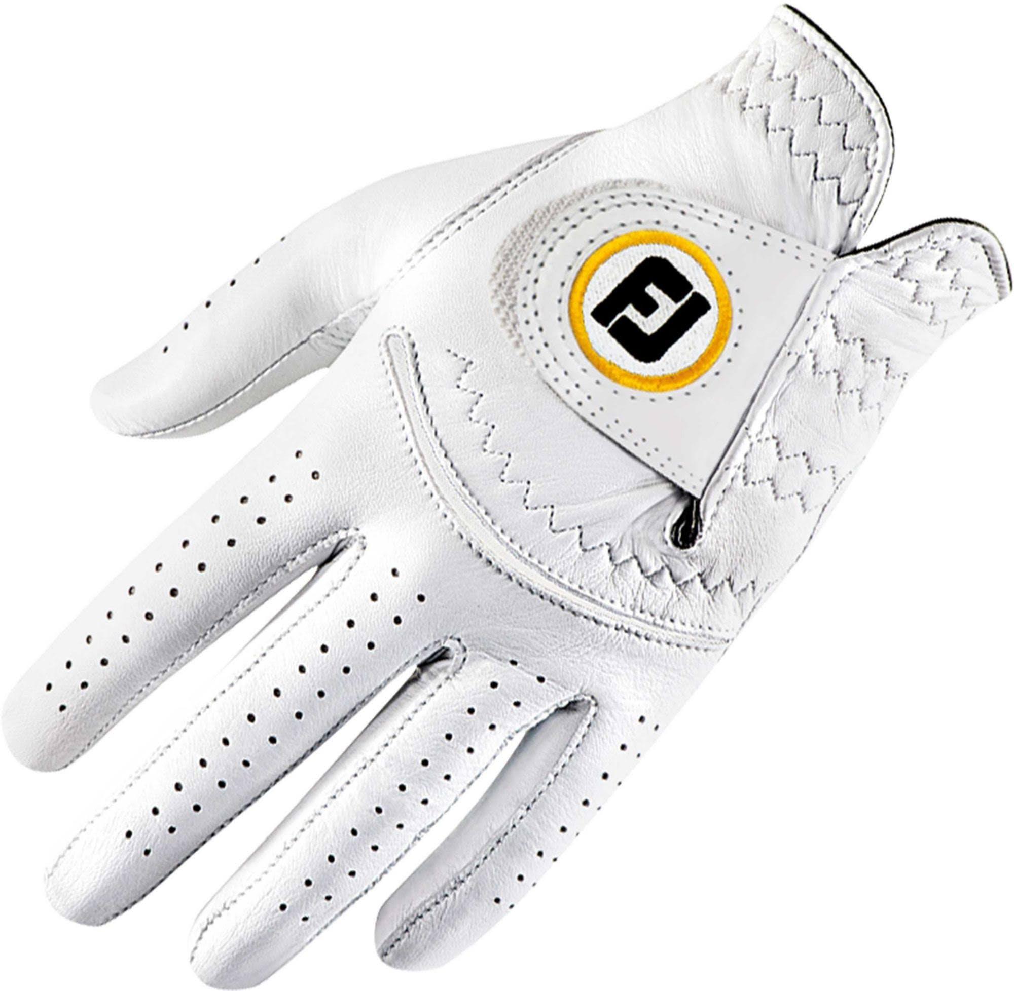 FootJoy Women's StaSof Golf Glove (White, Regular)