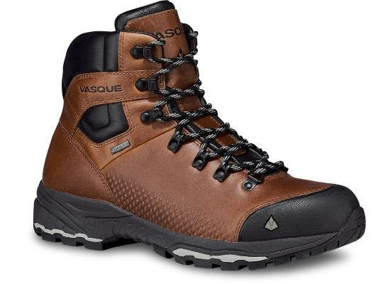 VASQUE - ST ELIAS FG GTX MENS - 10 - WIDE - Cognac
