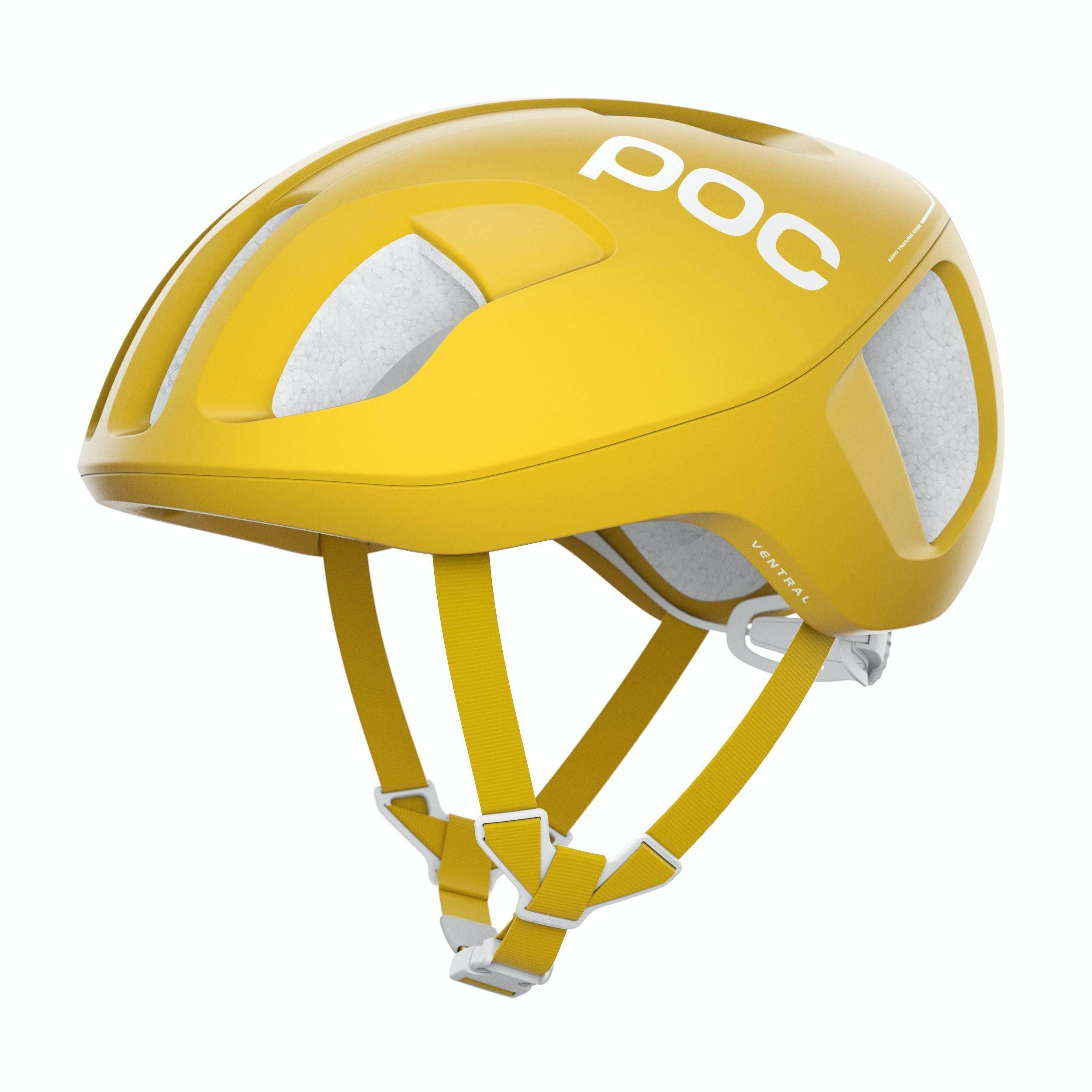 POC Ventral Spin Helmet - Sulphite Yellow - Small