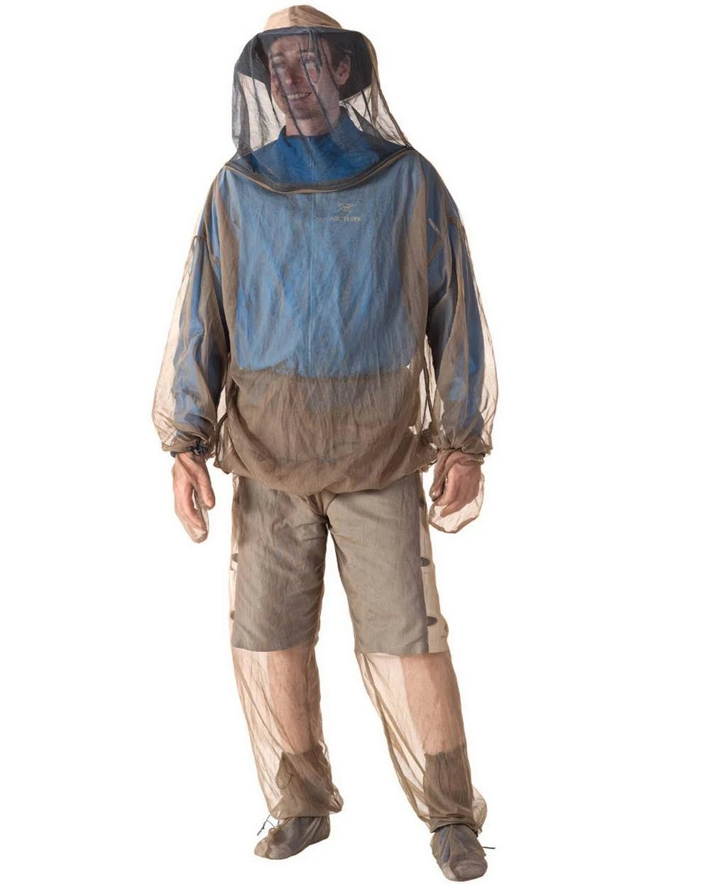 Sea to Summit Bugwear Jacket and Mitts, Olive, Small