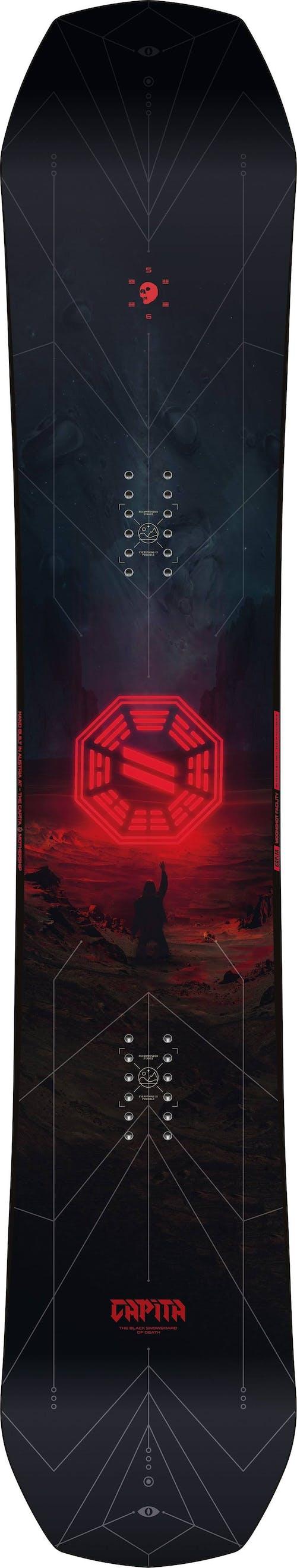 Capita Black Snowboard of Death - 2020