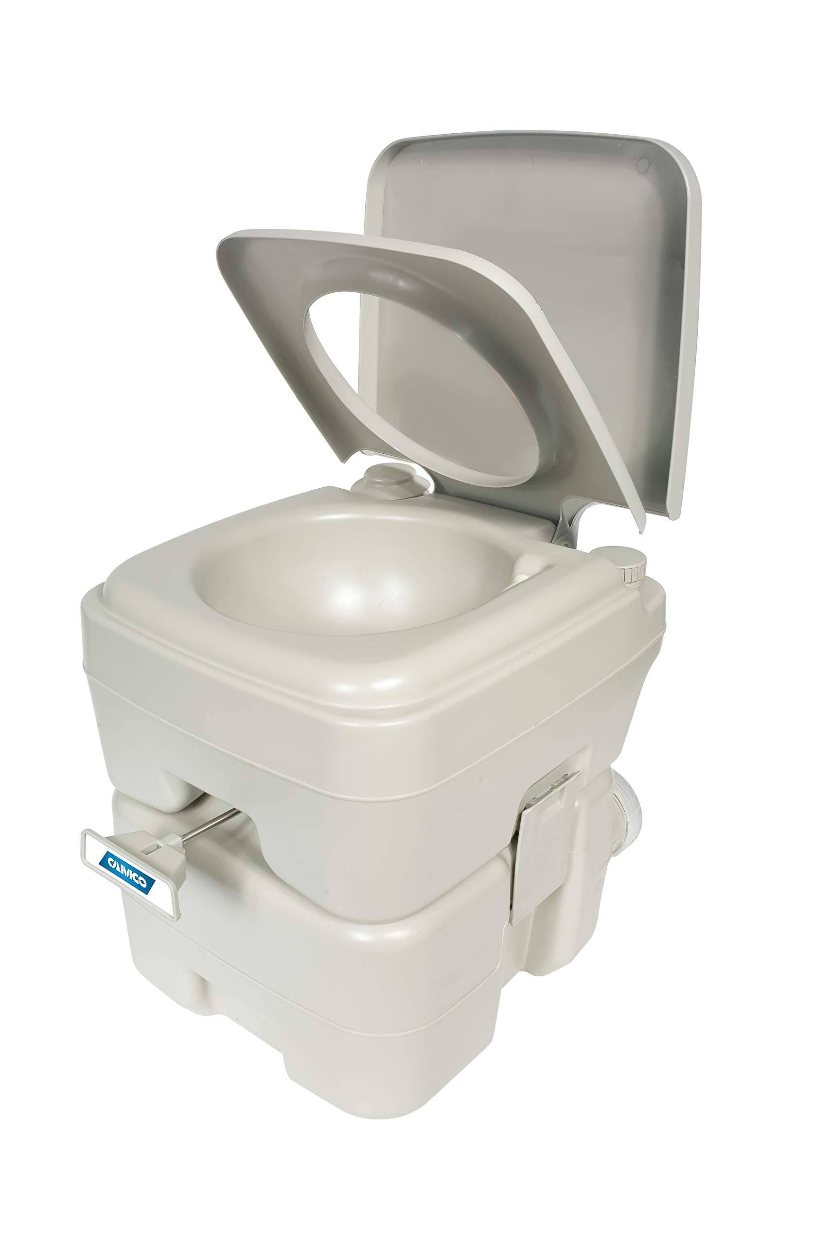 Camco - Portable Toilet 5.3 Gal