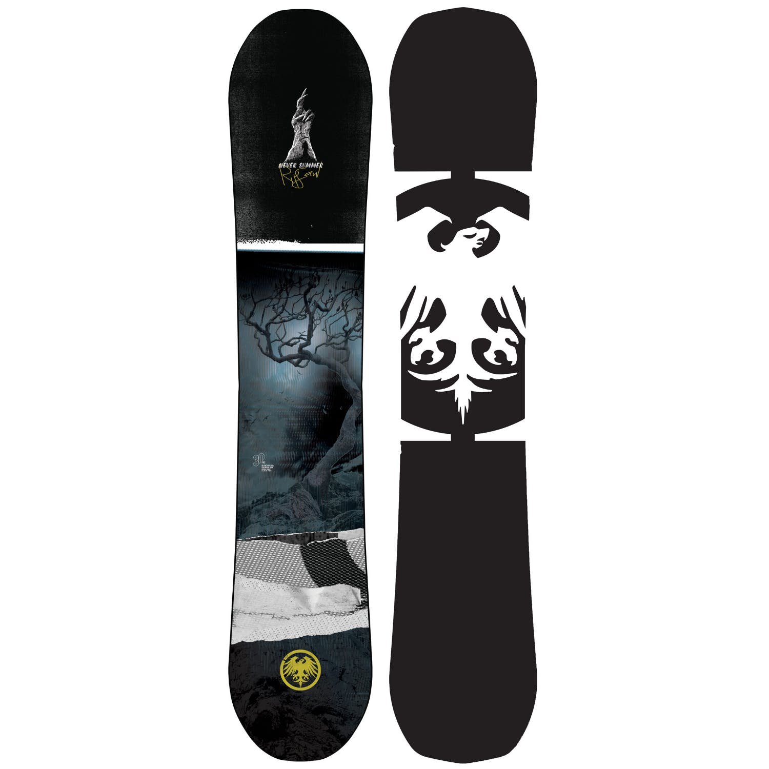 Never Summer Ripsaw  Snowboard · 2021