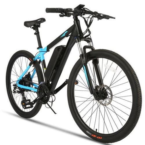 27.5 Inch Aluminum Alloy Frame E-Ride Electric Bike 350W · 36 Volt Battery · 24 Speeds Shifter With 10.4A Lithium Ion Battery