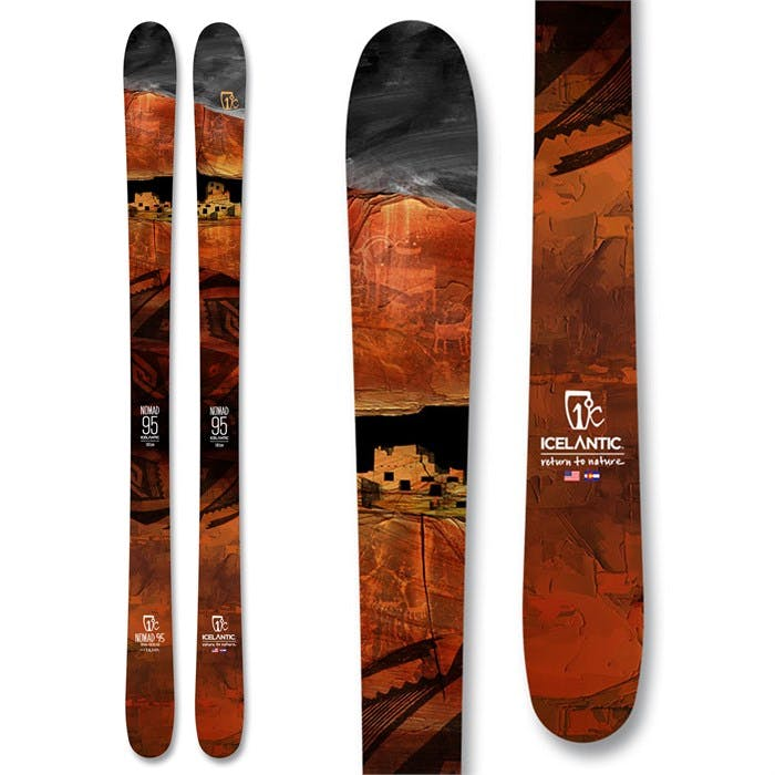 Icelantic Nomad 95 Skis · 2021
