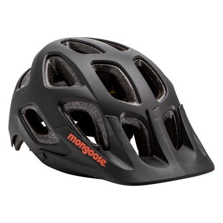 Mongoose Session Adult Bicycling Helmet, black