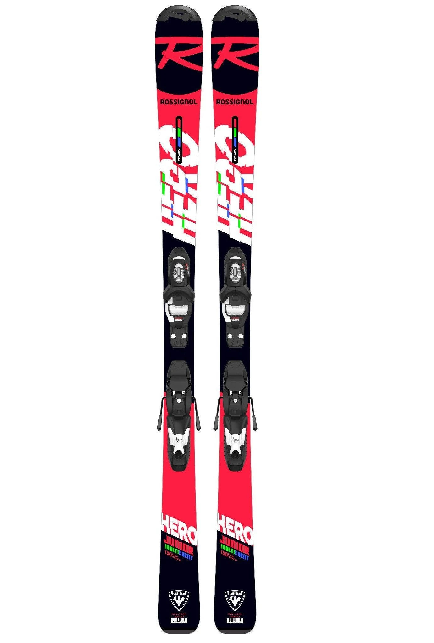 Rossignol Hero JR Skis with Kid 4 Gw Bindings