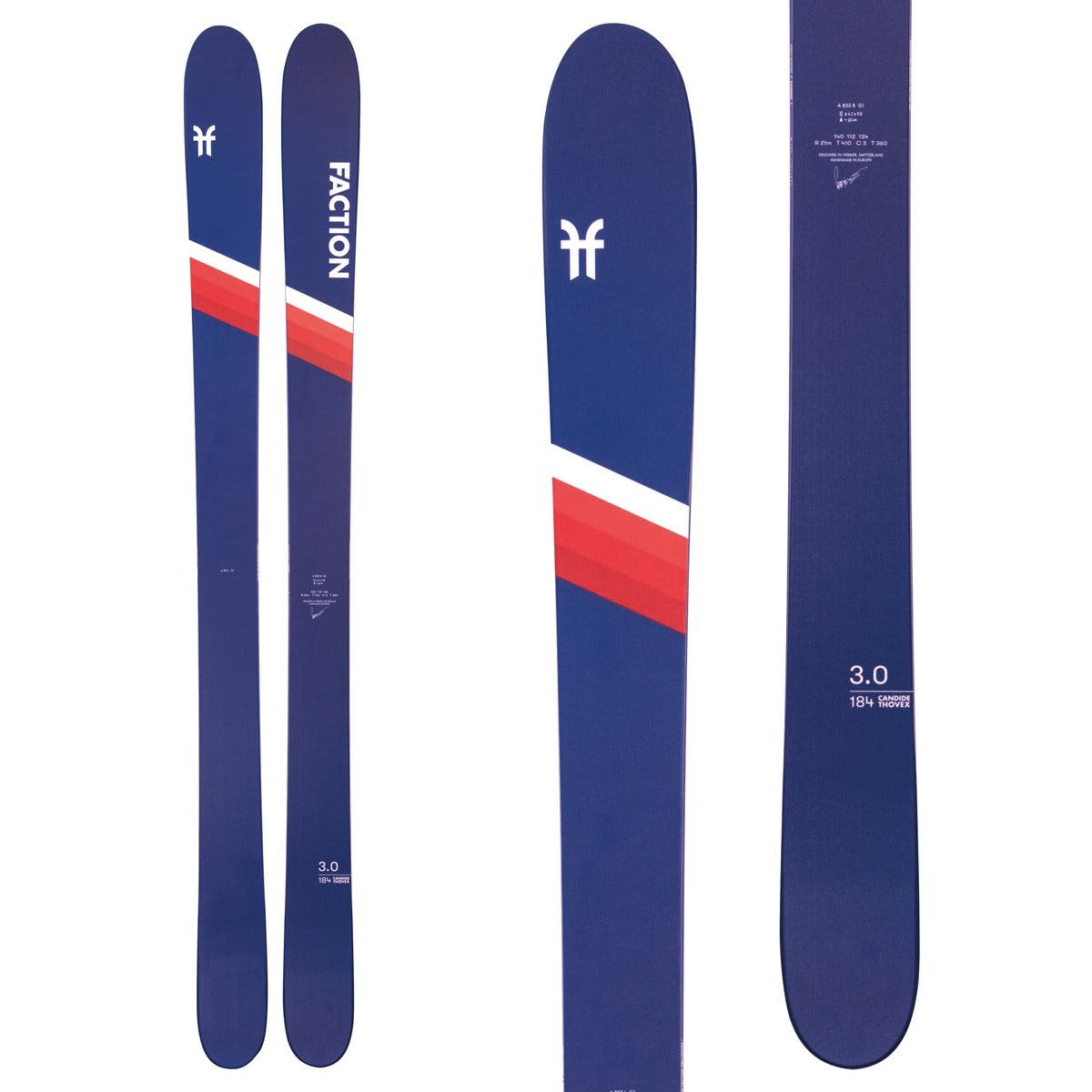 Faction Ski Candide 3.0 Skis · 2021