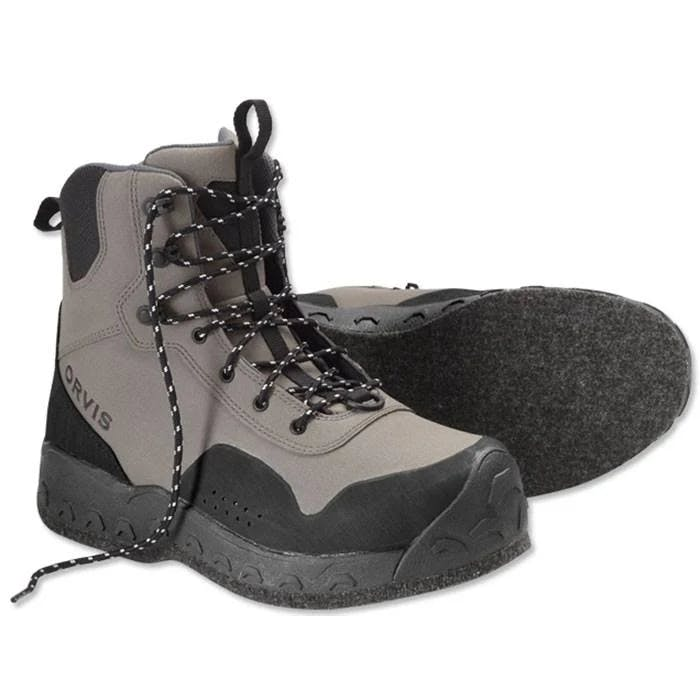 Orvis Women's Clearwater Wading Boots 11; Gravel; Felt Sole