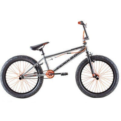 "Mongoose Index 2.0 20"" Freestyle Bike · Silver"