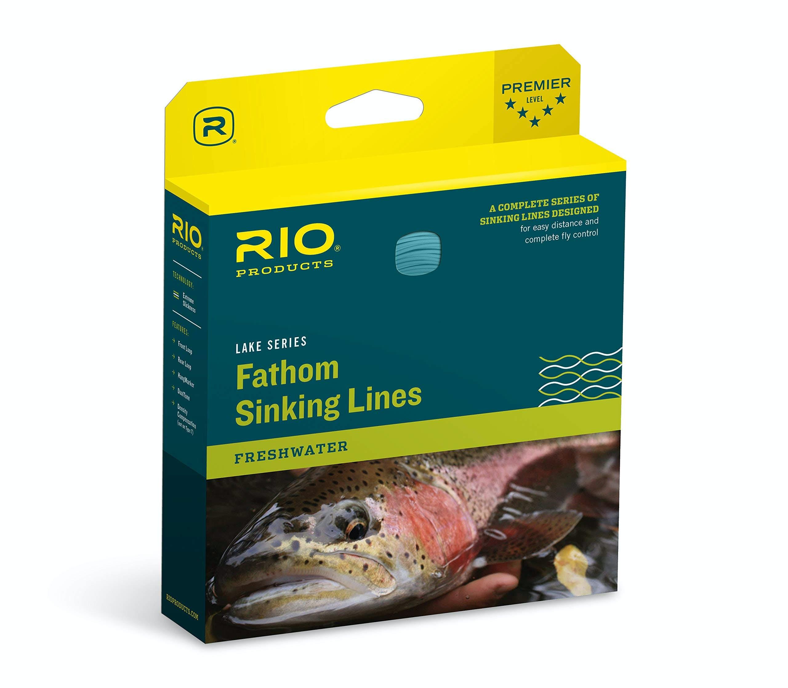 Rio Fathom Sinking Fly Line - WF5S3