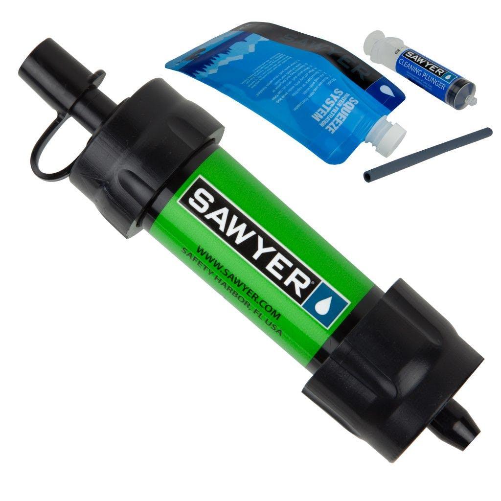 Sawyer - Mini Water Filter - Green