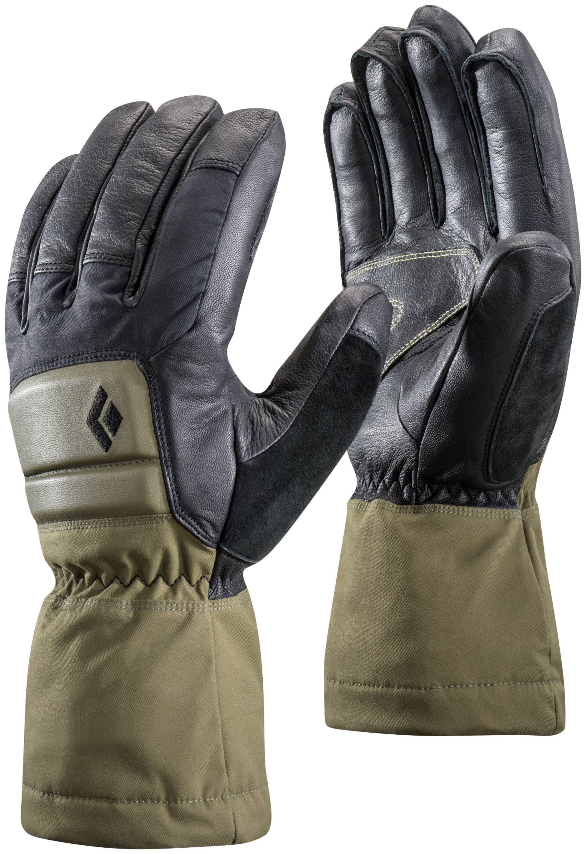 Black Diamond Spark Powder Gloves Men's Medium Burnt Olive