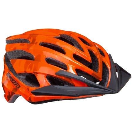 Diamondback Overdrive Mountain Bike Helmet, Orange Camo, Medium