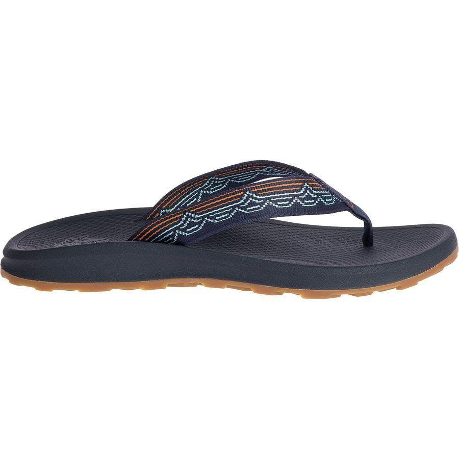 Chaco Men's Playa Pro Web - Flip Flops Sandal in Blip Aqua, Size 14