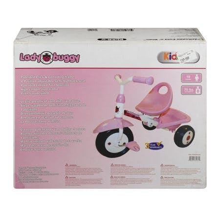 Kettler Kiddi-O Lady Buggy Fold N' Ride Kids Bike · 1.0 CT