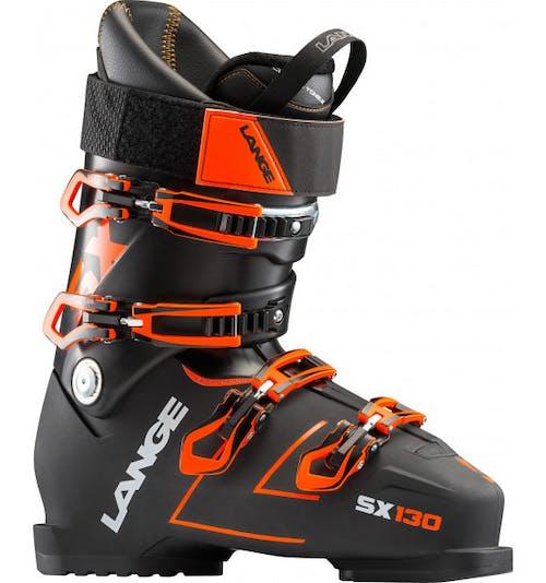 Lange SX 130 Ski Boots 29.5 Black Orange