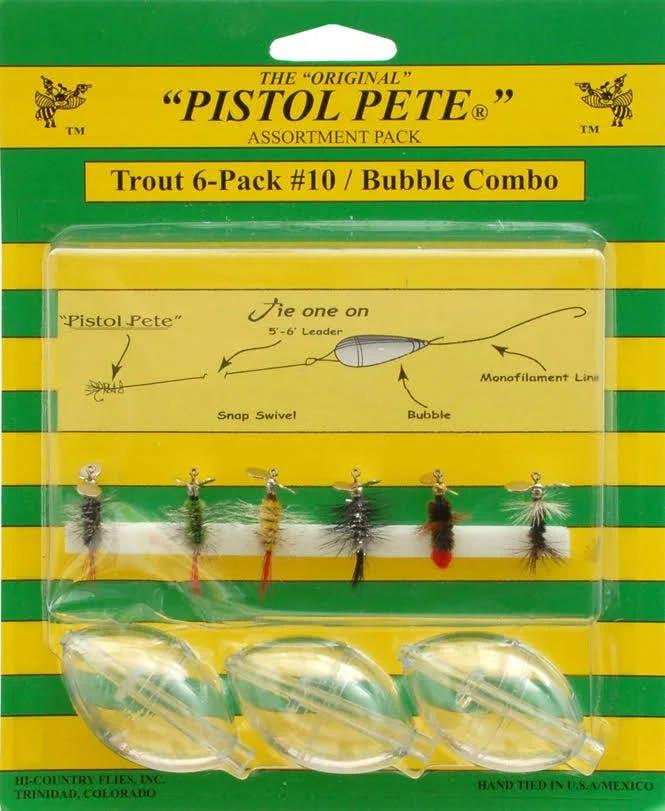 Pistol Pete 77777 Trout Bubble