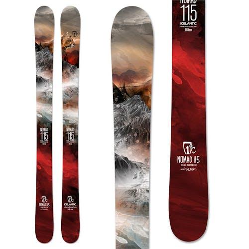 Icelantic Nomad 115 Skis · 2020