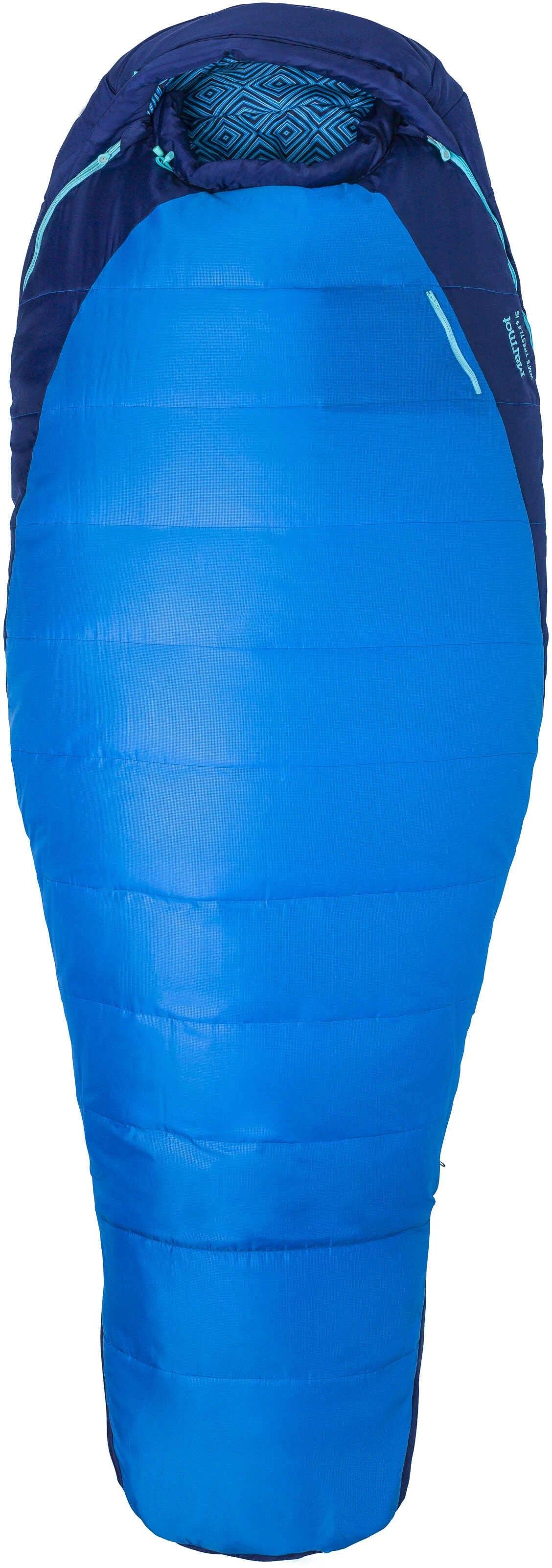 Marmot Women's Trestles 15 Sleeping Bag French Blue Harbor Blue Right