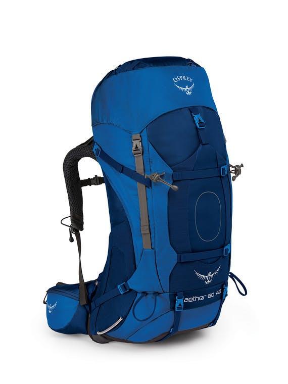 Osprey - Aether AG 60 Pack - SMALL - Neptune Blue
