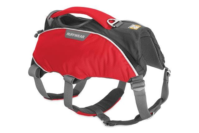 RUFFWEAR - WEBMASTER PRO HARNESS - X-SMALL - Red Currant