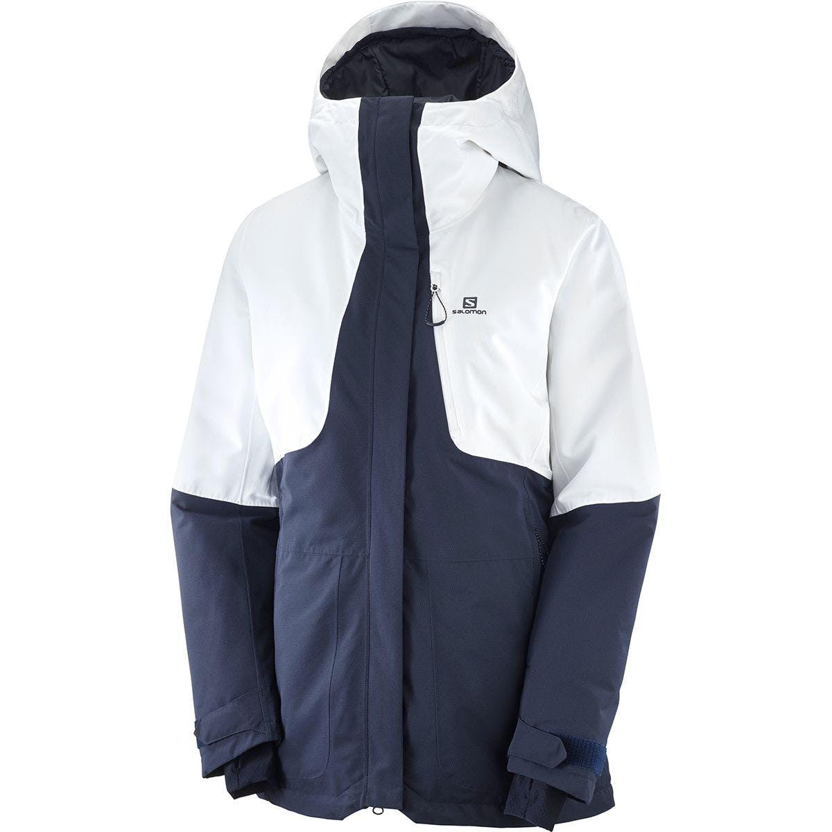 Salomon QST Snow Women's Jacket - Night Sky/ White
