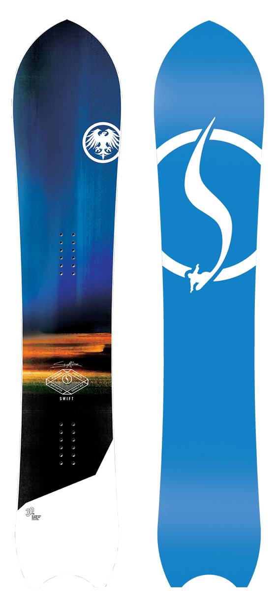 Never Summer Swift  Snowboard · 2021
