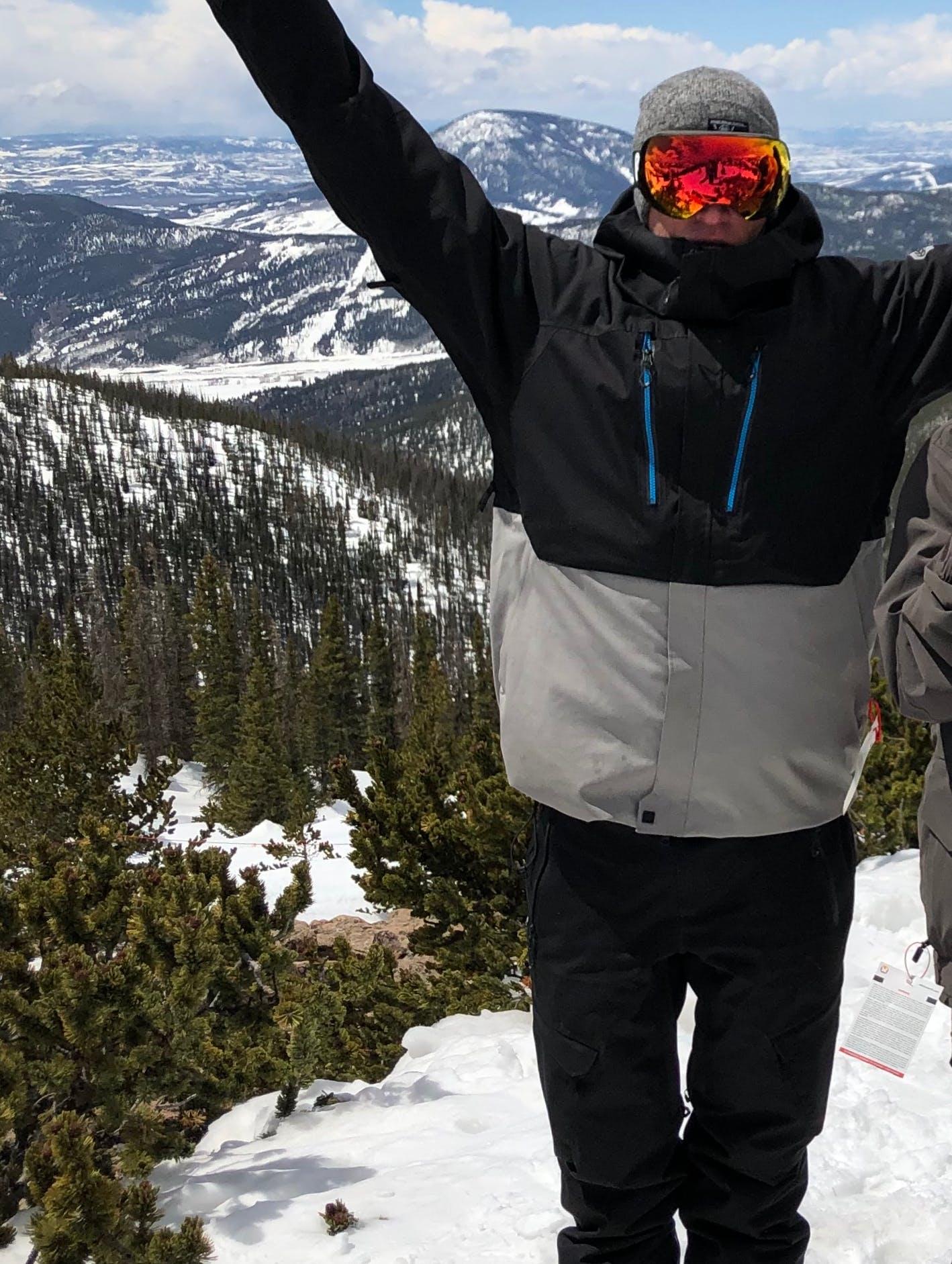 Snowboard Expert Mike Osborne
