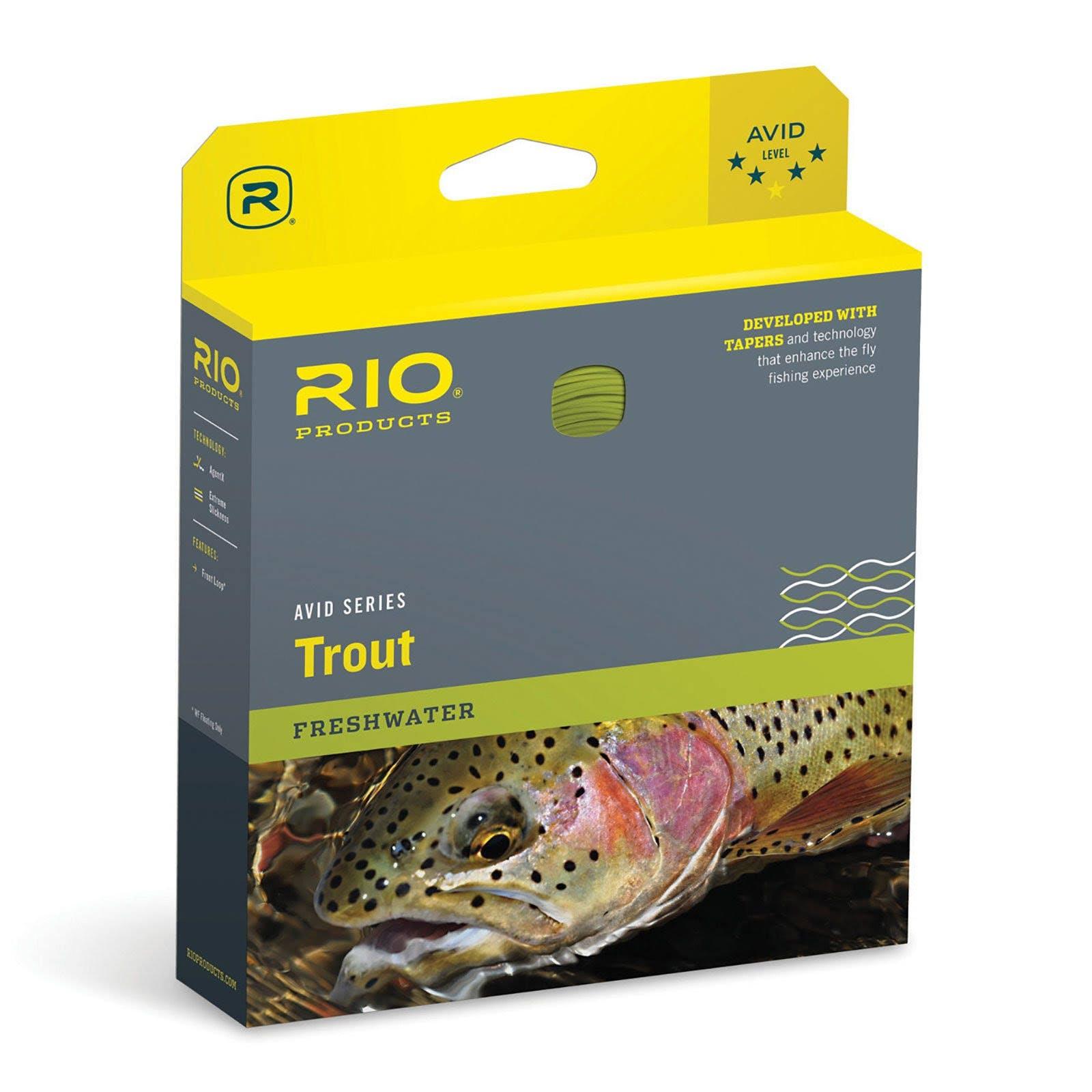 Rio Avid 24' Sinking Tip Fly Line