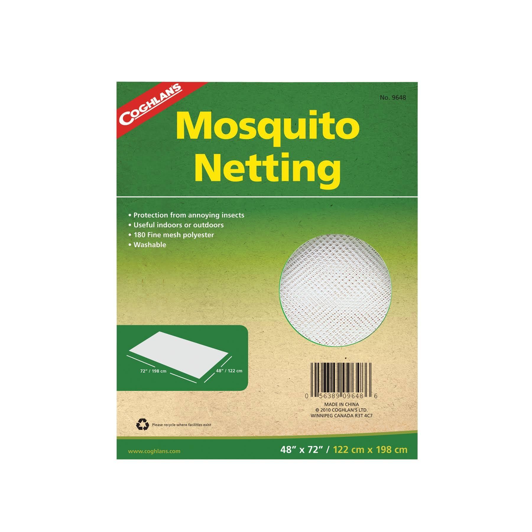 Coghlan's Mosquito Netting, White