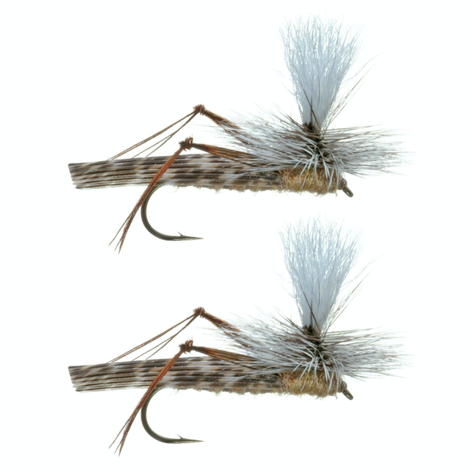Umpqua Parachute Hopper - 2-Pack Tan, 14