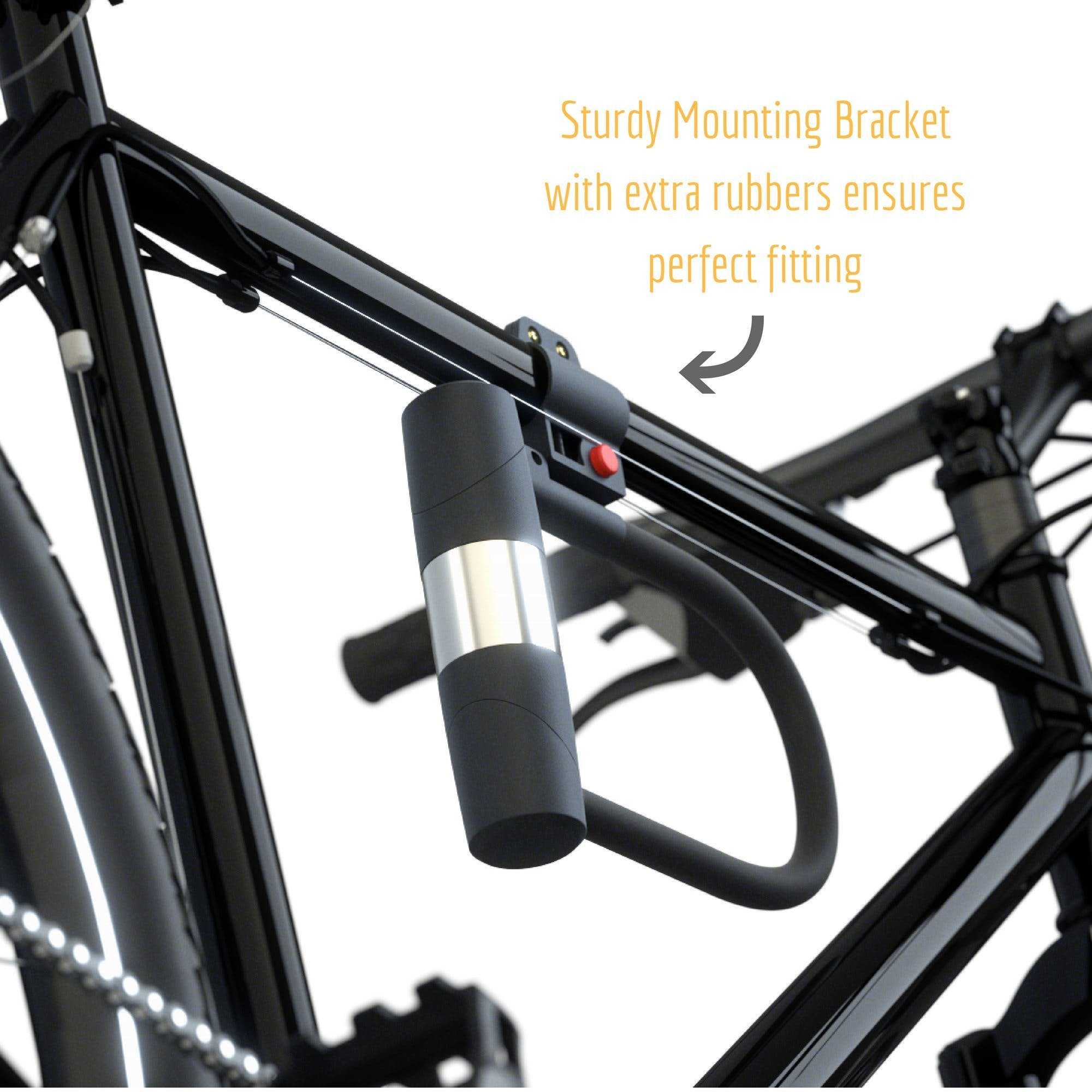 10mm, 4-Feet Kryptonite KryptoFlex 410 Double Loop Bicycle Security Bike Cable