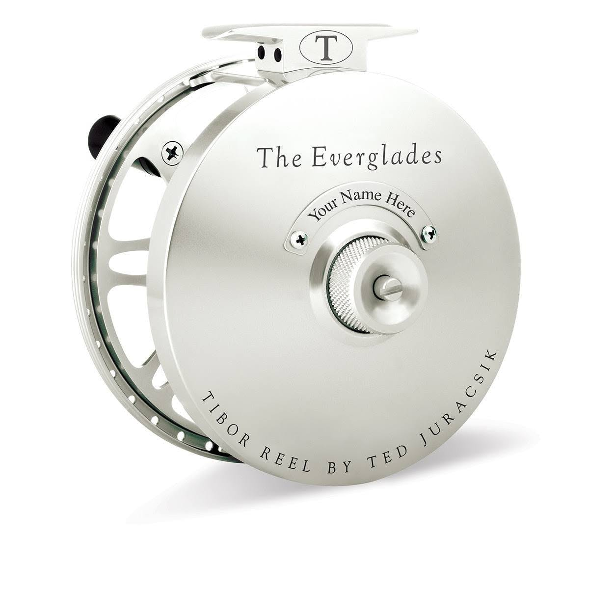 Tibor Everglades Fly Reel - Frost Silver
