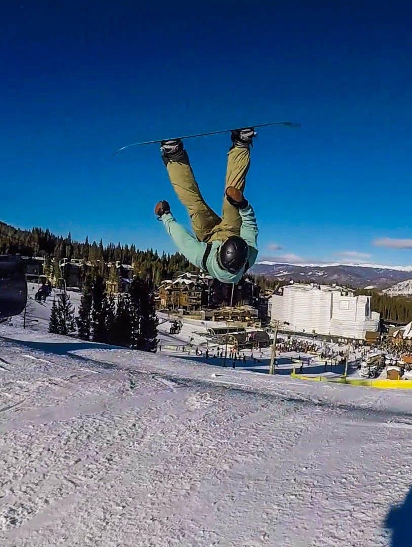 Snowboard Expert Mike Leighton