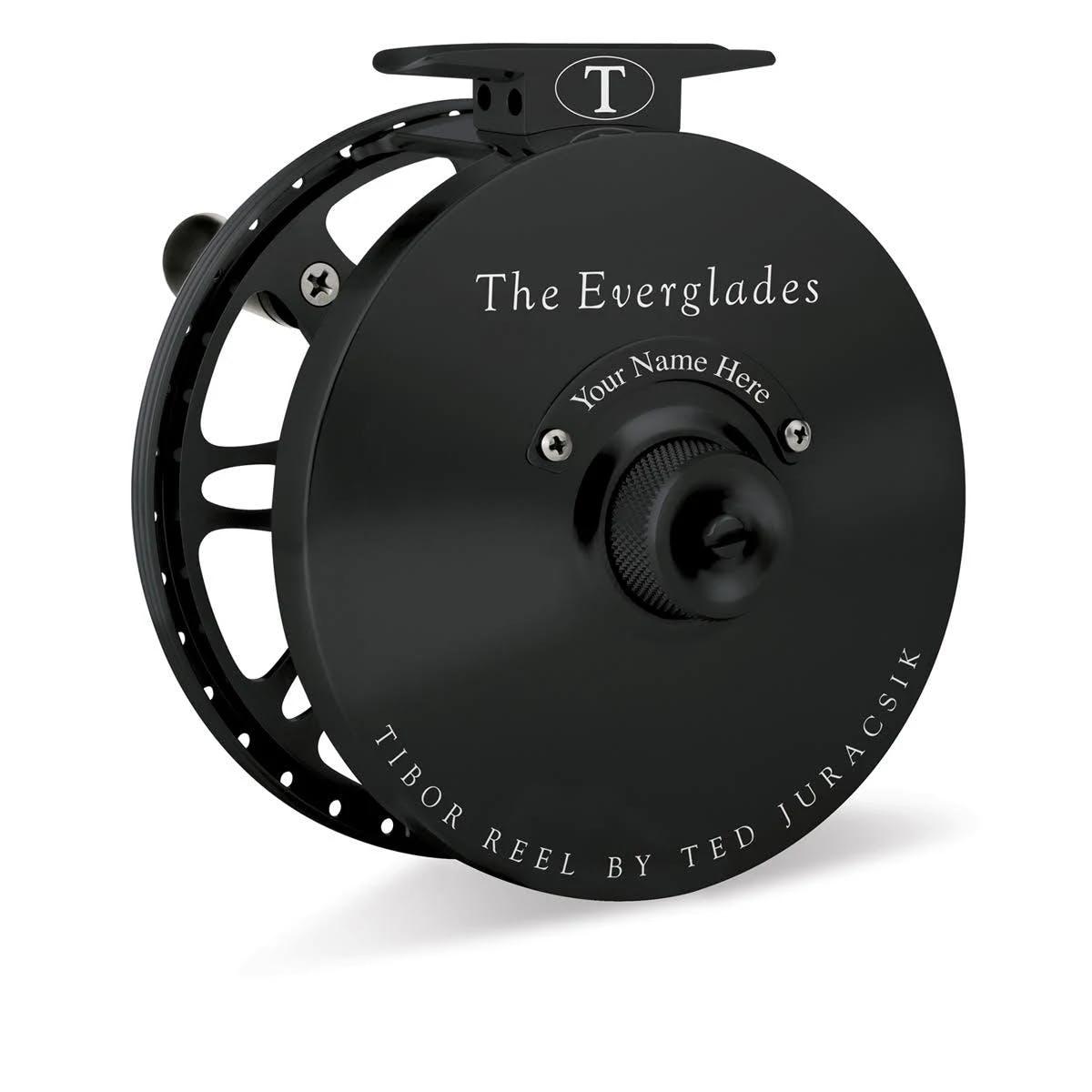 Tibor Everglades Fly Spool - Black
