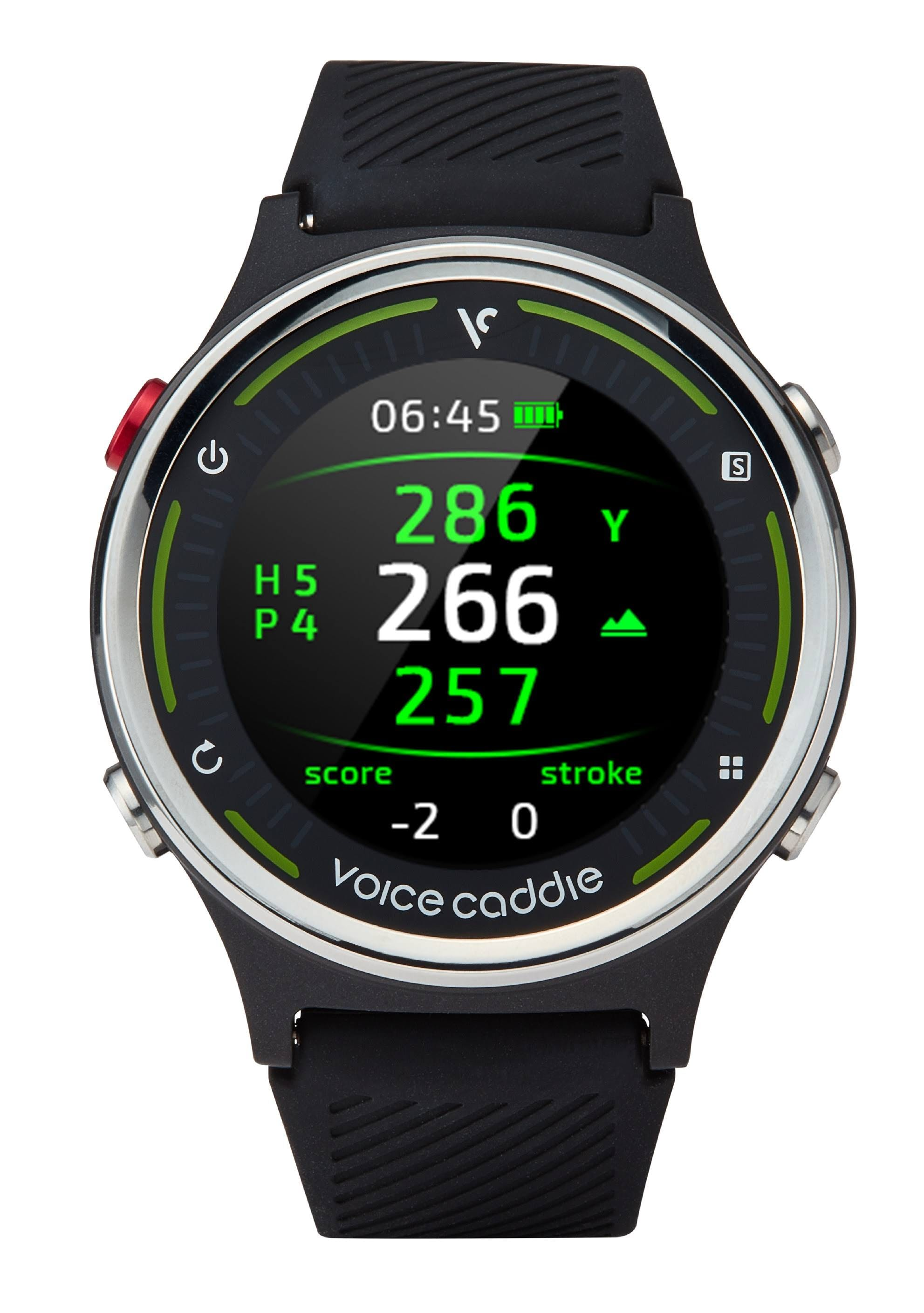 Voice Caddie Golf- G1 GPS Watch w/ Green Undulation and Slope