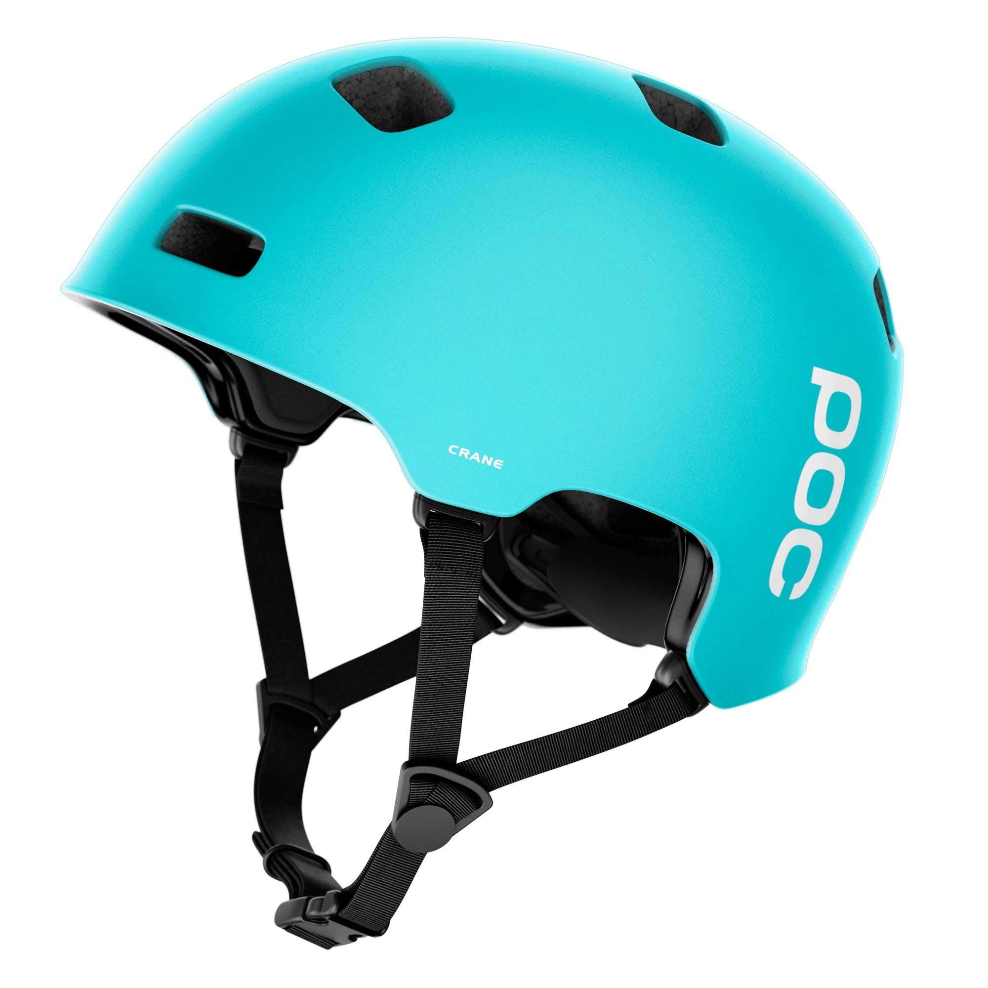 POC Crane Helmet Kalkopyrit Blue Matte, XS/S