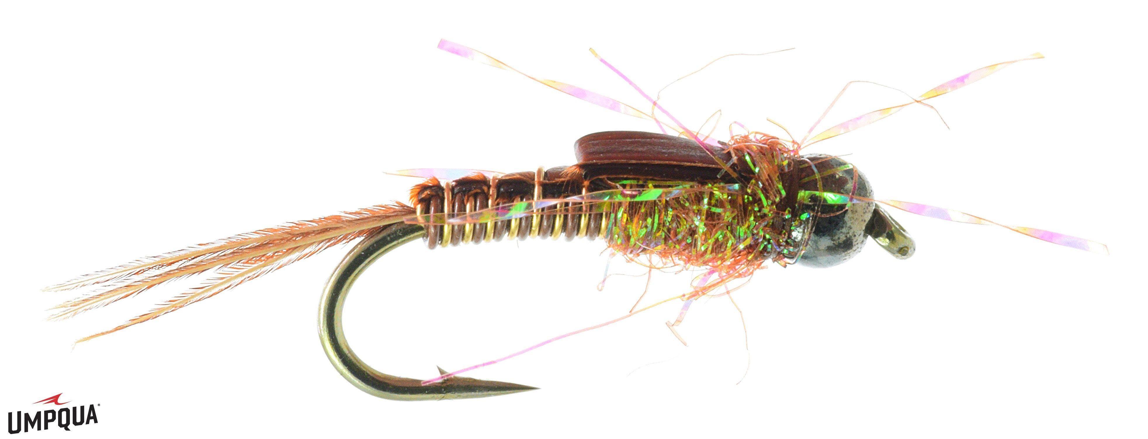 Umpqua Pickpocket Morrish, Golden Brown / 12