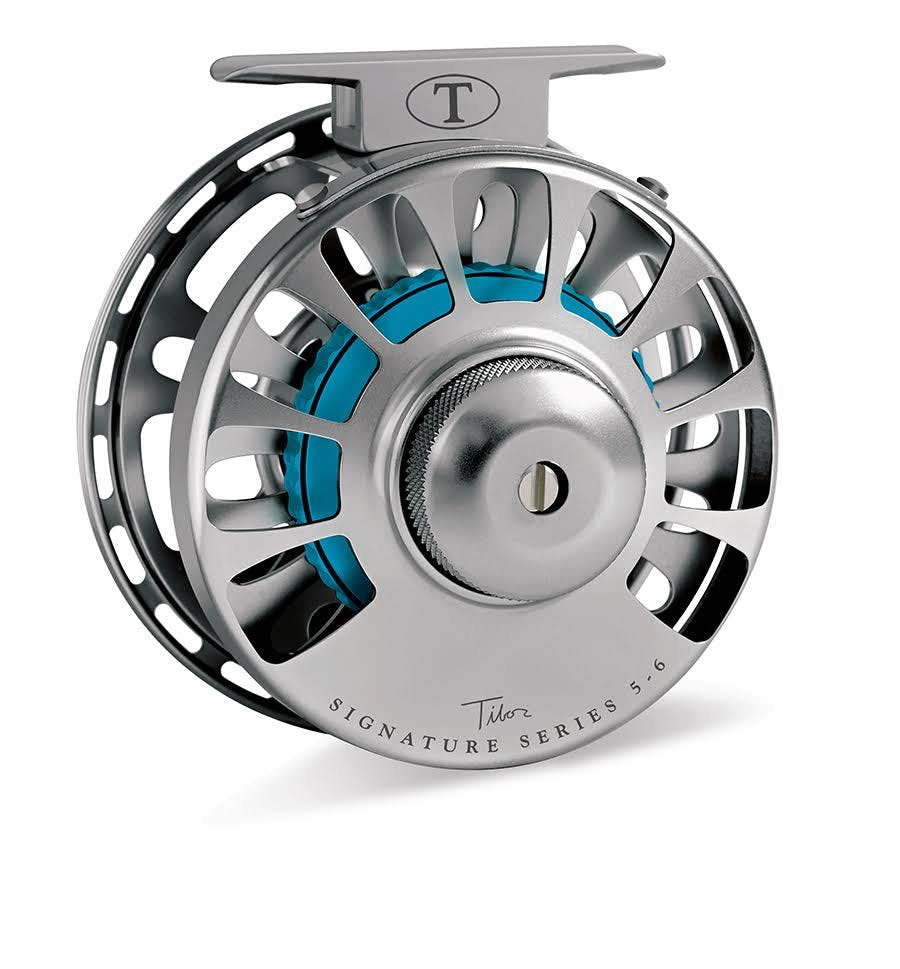 Tibor Signature Series Graphite Fly Reel - Red