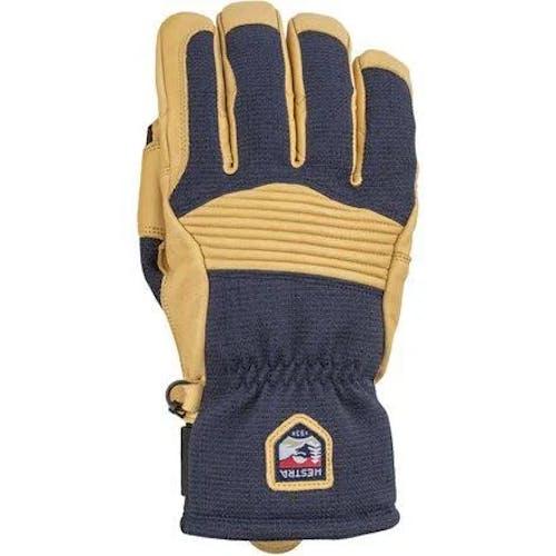 Hestra Army Leather Couloir Glove 7 / Navytan