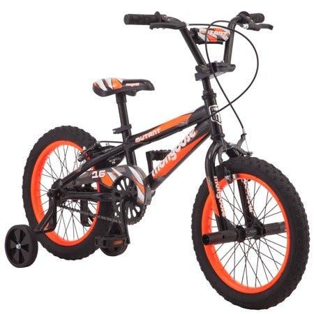 "Mongoose 16"" Mutant Kids BMX-Style Bike · Black & Orange"