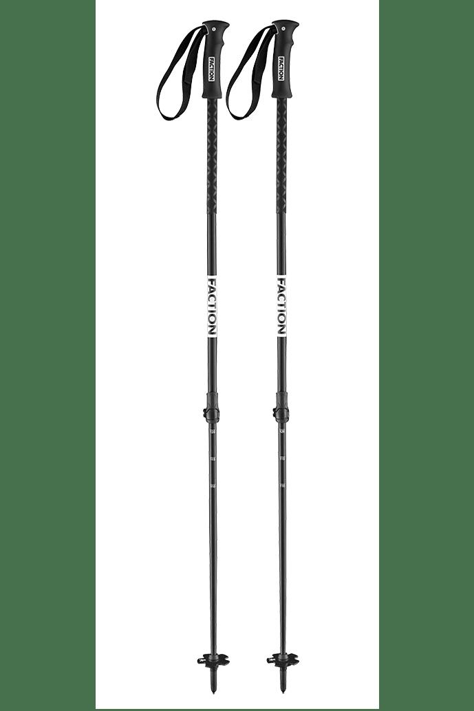 Faction Ski Agent Ski Poles OS Black