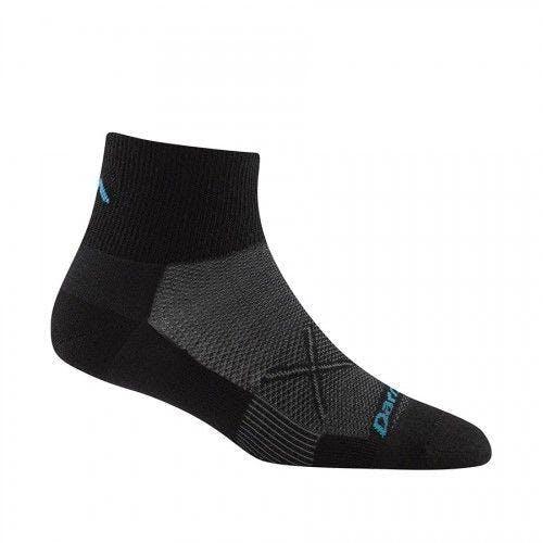 Darn Tough Women's Vertex 1/4 Ultra-Light Socks in Team (Purple), Size Medium