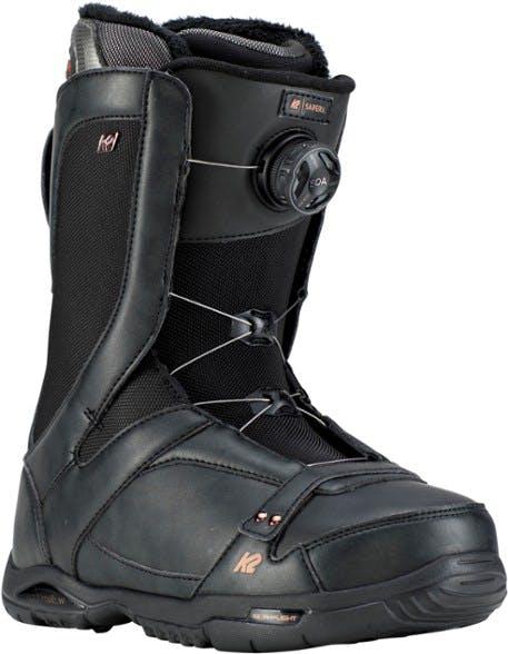 K2 Sapera Heat Female  Black 10 Snowboard Boots · 2020