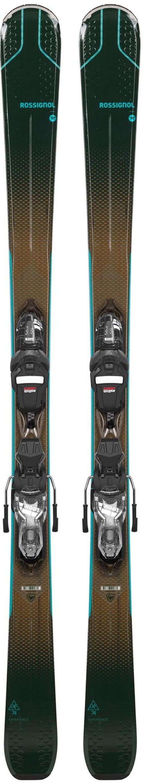 Rossignol Experience 74 Women's Skis + Xpress 10 Gw Bindings · 2021
