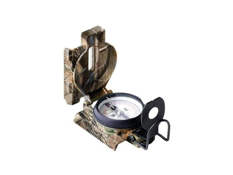 Cammenga Phosphorescent Lensatic Compass 27 - Northern Hemisphere Real Tree Camoflauge C27RT