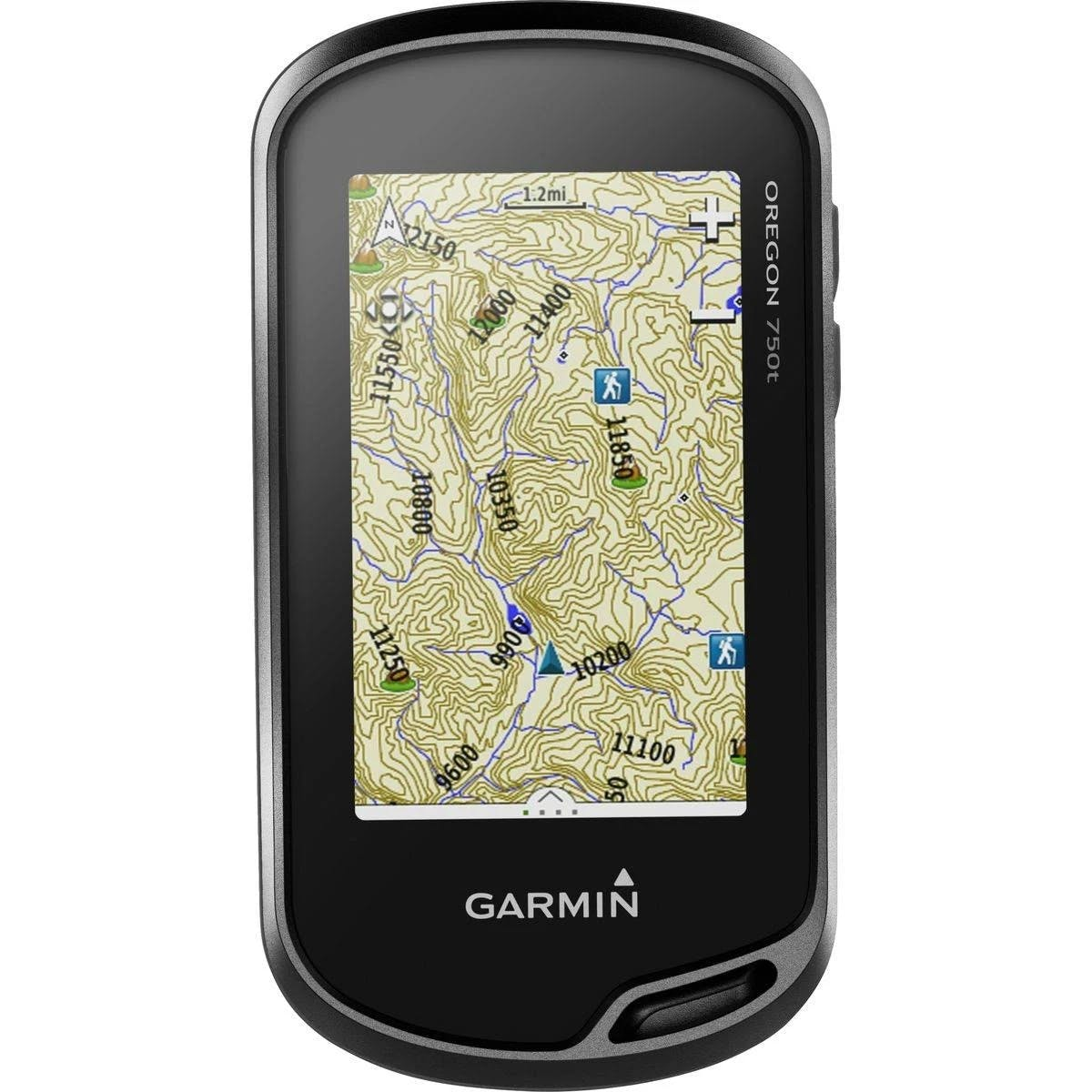 "Garmin Oregon 750T Hiking GPS Navigator - 3"" Display - Canada"