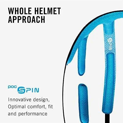 X Small POC POCito Auric Cut Spin Helmet Fluorescent Yellow//Green